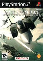 Скан обложки игры Ace Combat: Squadron Leader на PlayStation 2