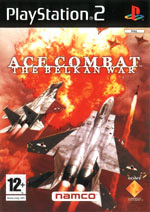 Скан обложки игры Ace Combat: The Belkan War на PlayStation 2