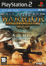 Скан обложки игры Full Spectrum Warrior: Ten Hammers на PlayStation 2