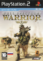 Скан обложки игры Full Spectrum Warrior на PlayStation 2
