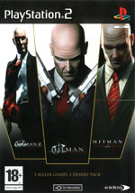 Скан обложки игры Hitman 2: Silent Assassin на PlayStation 2