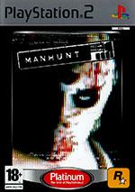 Скан обложки игры Manhunt на PlayStation 2