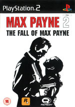 Скан обложки игры Max Payne 2: The Fall of Max Payne на PlayStation 2