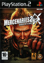 Игра Mercenaries 2 World In Flames на PlayStation 2