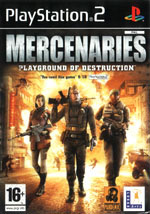 Игра Mercenaries: Playground of Destruction на PlayStation 2