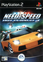 Скан обложки игры Need for Speed: Hot Pursuit 2 на PlayStation 2