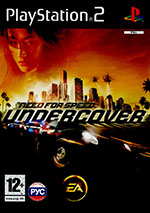 Скан обложки игры Need For Speed: Undercover на PlayStation 2