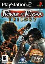Скан обложки игры Prince Of Persia The Two Thrones на PlayStation 2