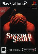 Скан обложки игры Second Sight на PlayStation 2