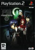 Скан обложки игры Shin Megami Tensei: Persona 3 на PlayStation 2