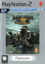 Скан обложки игры SOCOM: U.S. Navy SEALS на PlayStation 2