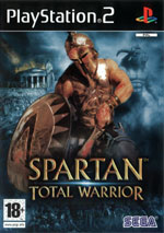 Скан обложки игры Spartan: Total Warrior на PlayStation 2