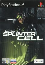 Скан обложки игры Tom Clancy's Splinter Cell на PlayStation 2