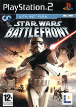 Скан обложки игры Star Wars Battlefront на PlayStation 2