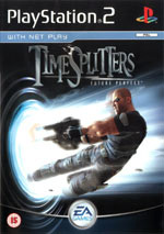 Скан обложки игры Timesplitters: Future Perfect на PlayStation 2