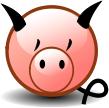 """Смайл """"Поросенок"""" (Pig)"""