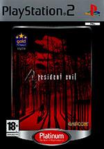 Скан обложки игры Resident Evil 4 на PlayStation 2