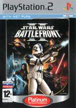 Скан обложки игры Star Wars Battlefront II на PlayStation 2