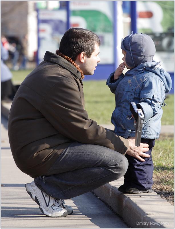 Мужики : Разговор по душам (Фотограф Дмитрий Новоженов)