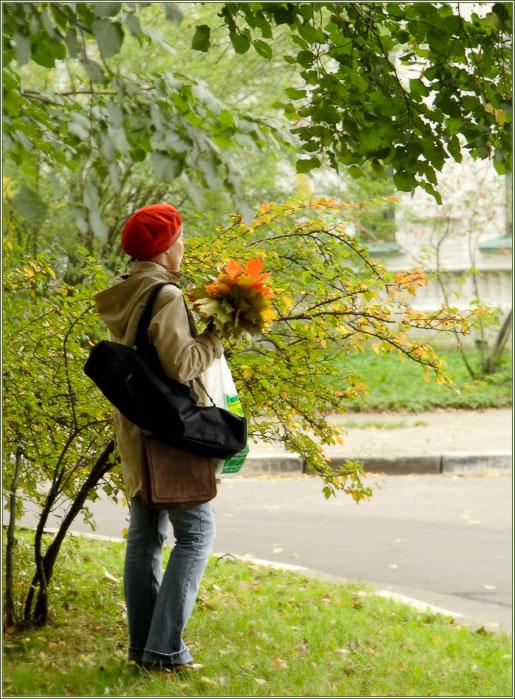Осеннее настроение : Осень - пора зрелости, сама Природа подталкивает нас к размышлениям (Фотограф Дмитрий Новоженов)