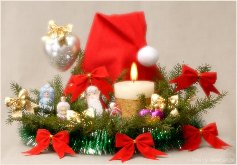 Новый Год : Новогодние игрушки, Свечи и хлопушки... Скоро, все скоро! (Фотограф Дмитрий Новоженов)