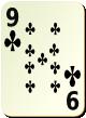 """Изображение игральной карты без специфики """"Cross 9"""" (Cross 9)"""