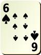 """Изображение игральной карты без специфики """"Spear 6"""" (Spear 6)"""