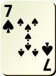 """Изображение игральной карты без специфики """"Spear 7"""" (Spear 7)"""
