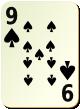 """Изображение игральной карты без специфики """"Spear 9"""" (Spear 9)"""