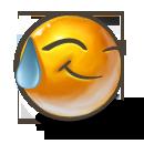 """Смайл """"Прослезился от счастья"""" (Tear Smile)"""