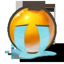 """Смайл """"Потоки слез"""" (Tear Stream)"""