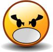 """Смайл """"Сердитый Кричащий"""" (Angry Yell)"""
