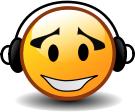 """Смайл """"В Наушниках"""" (Headphones)"""