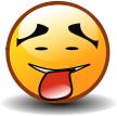 """Смайл """"Счастливый С Высунутым Языком"""" (Tongue Out Happy)"""